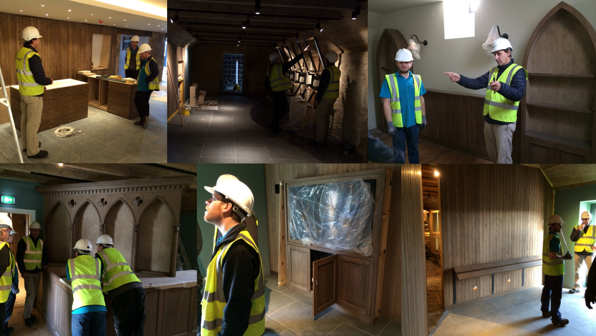 On site at Kingsbarns!